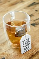 TEA LABEL INFUSER