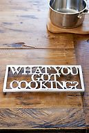 WHAT YOU GOT COOKING TRIVET