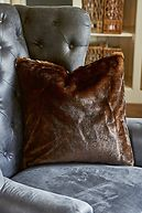 CANADIAN FAUX FUR PILLOW COVER 50X50
