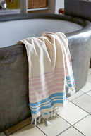 HAPPY HAMPTONS HAMMAM TOWEL 170X100