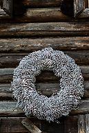 WINTER WONDERLAND WREATH 57CM