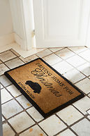 DRIVING HOME FOR CHRISTMAS DOORMAT