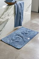"BATH MAT ""SPA"" STEEL GREY"