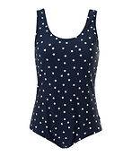LISA SWIMSUIT blue star print