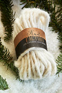 DECORATION WOOL CREME