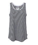 LAUREL TANK blue/white stripe