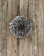 ROMANTIC CHRISTMAS WREATH 23CM
