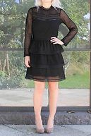 ADETTE DRESS black
