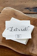 PAPER NAPKIN LET´S EAT