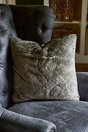 CHINCHILLA FAUX FUR PILLOW COVER 50X50