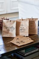 JUST FOR YOU PAPER BAGS 6PCS